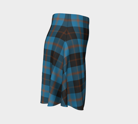 Tartan Skirt - Angus Ancient Women Flared Skirt