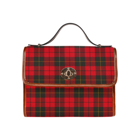 Wallace Weathered Tartan Plaid Canvas Bag | Online Shopping Scottish Tartans Plaid Handbags