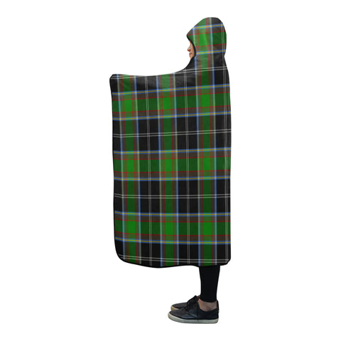 Webster Tartan Hooded Blanket - BN
