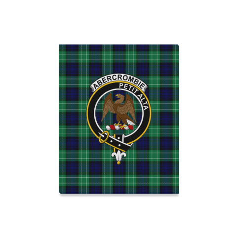 Tartan Canvas Print - Abercrombie (Or Abercromby) Clan | Over 300 Scottish Clans and 500 Tartans