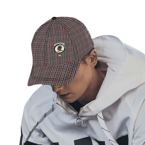 Image of Borthwick Ancient Clan Badge Tartan Dad Cap - BN03