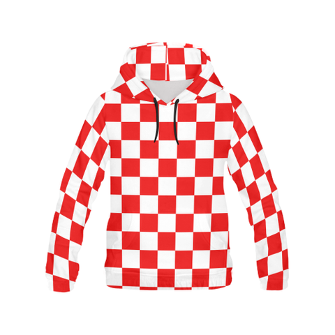 Croatia All Over Print Women Hoodie NN9