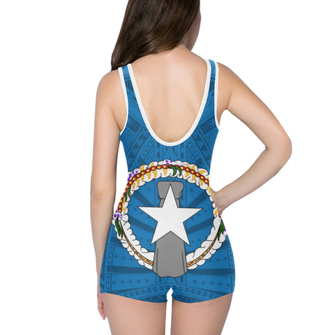 Northern Mariana Islands One Piece Swimwear A7