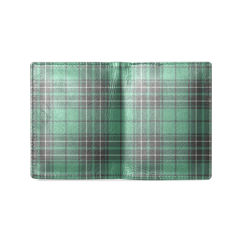 Image of MacLean Hunting Ancient Tartan Wallet | Leather wallet for men | 1sttheworld