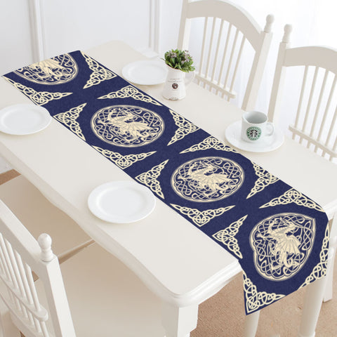 WELSH DRAGON 01 TABLE RUNNER - BN02