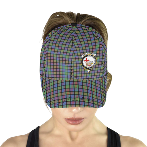 MacDonald (Clan Donald) MacDonald Ancient Clan Badge Tartan Dad Cap - BN04
