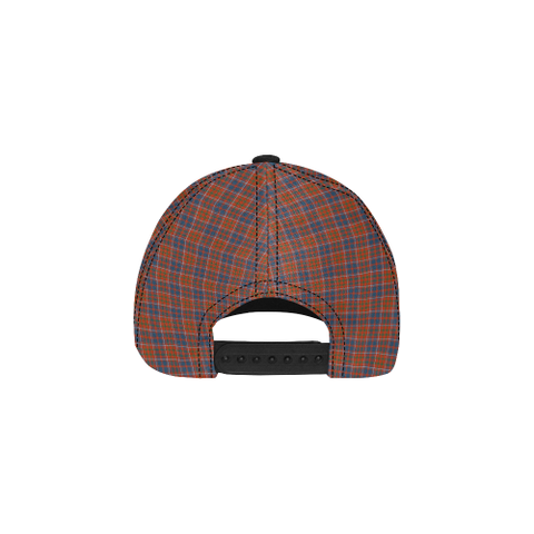 Cameron of Lochiel Ancient Clan Badge Tartan Dad Cap - BN03
