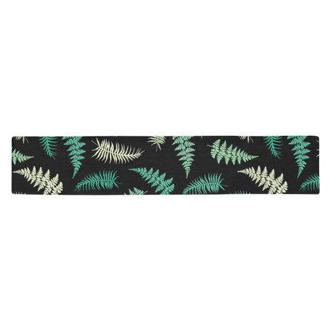 New Zealand Table Runner - Silver Fern 05 A2