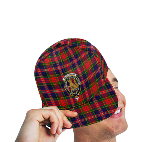 Image of Macpherson Modern Tartan Hat - All Over Print Snapback Hat TH8