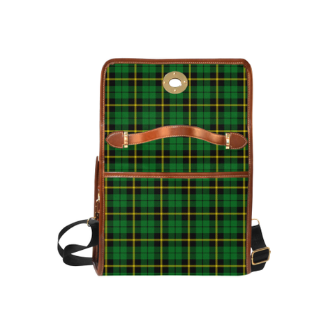 Wallace Hunting - Green Tartan Plaid Canvas Bag | Online Shopping Scottish Tartans Plaid Handbags