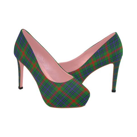 Aiton Tartan Heels - Women's Tartan High Heels Th8 |Footwear| 1sttheworld