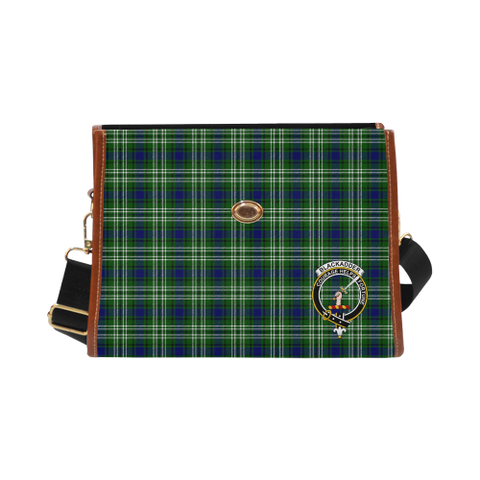 Tartan Canvas Bag - Blackadder Clan | Waterproof Bag | Scottish Bag