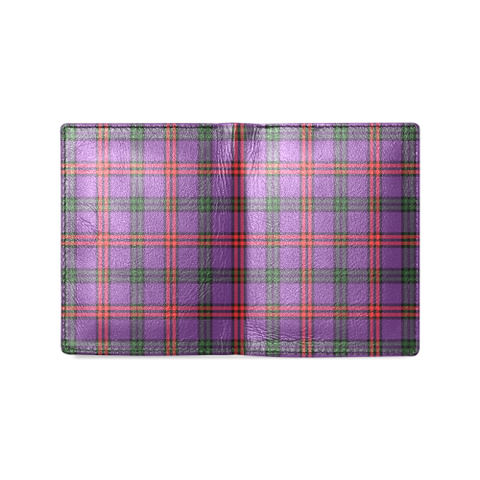 Montgomery Modern Tartan Wallet | Leather wallet for men | 1sttheworld