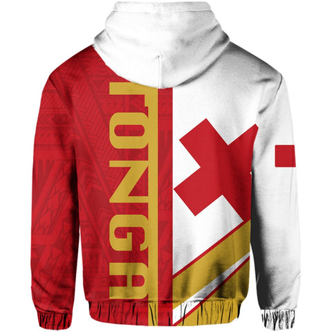 Kingdom of Tonga Zip Hoodie - Half Concept