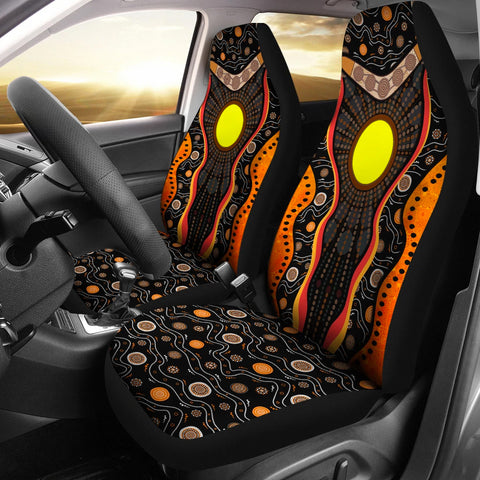 Image of Australia Car Seat Covers Boomerang K4