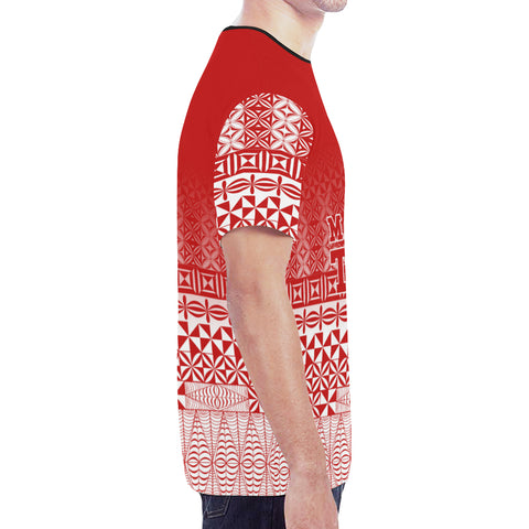 Image of Tonga T-shirt - Polynesian - Atikapu All Over Printed  | Special Custom Design