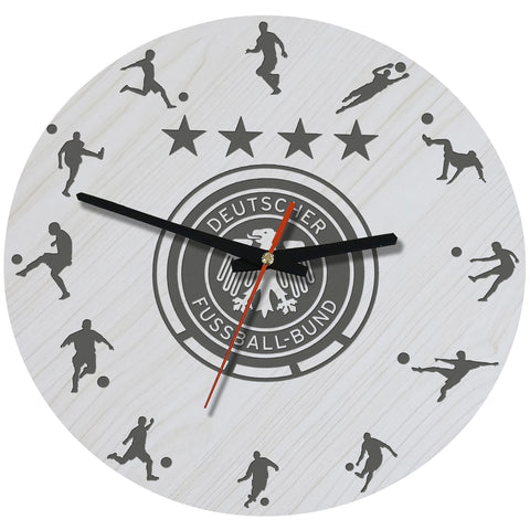 Germany Football Wooden Wall Clock J2
