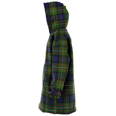 Fergusson Modern Snug Hoodie - Unisex Tartan Plaid Left