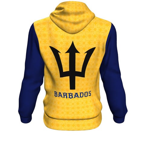 Barbados Pullover Hoodie - Batik Pattern Style | HOT Product