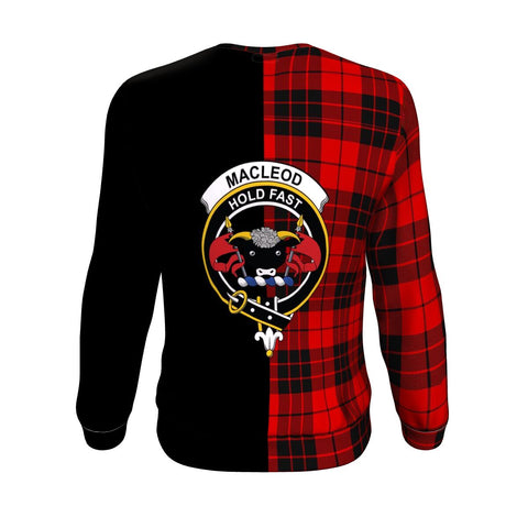 Image of MacLeod of Raasay Tartan Sweatshirt - Half Style TH8