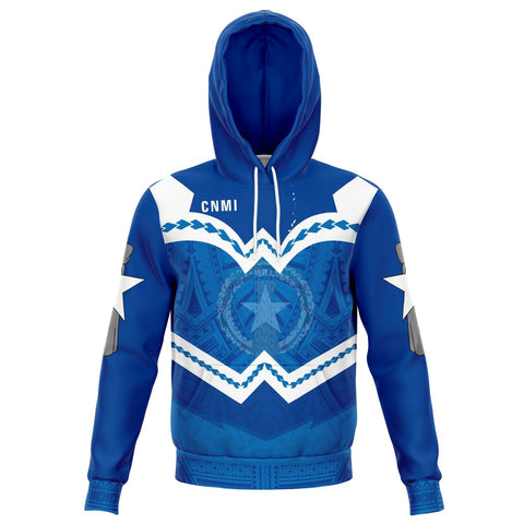 Northern Mariana Islands Hoodie - Warriors Style