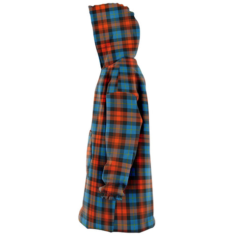 Image of MacLachlan Ancient Snug Hoodie - Unisex Tartan Plaid Left