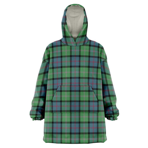 Image of MacThomas Ancient Snug Hoodie - Unisex Tartan Plaid Front