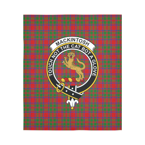 Mackintosh Modern Tartan Tapestry Clan Badge K9