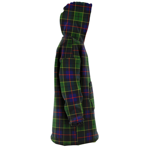 Forsyth Modern Snug Hoodie - Unisex Tartan Plaid Right