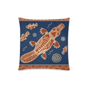 Aboriginal Platypus Pillow Covers NN6