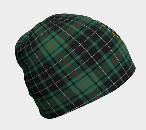 Image of MacAulay Hunting Ancient Tartan Clan Crest Beanie
