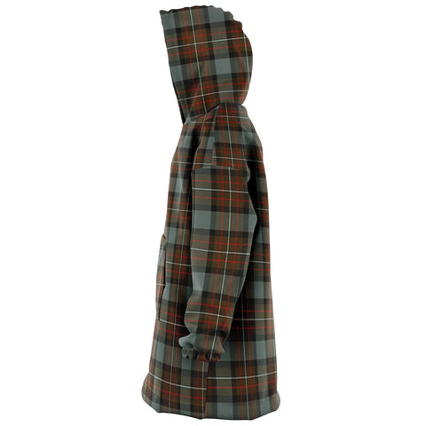 Fergusson Weathered Snug Hoodie - Unisex Tartan Plaid Left