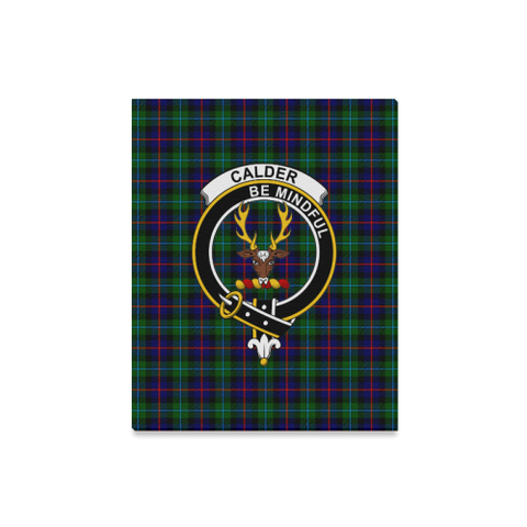 Image of Tartan Canvas Print - Calder Clan | Over 300 Scottish Clans and 500 Tartans
