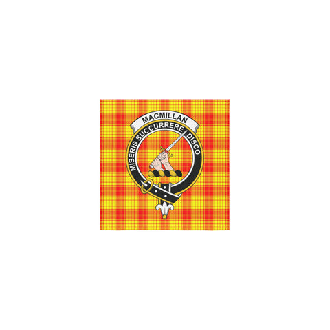 MacMillan Clan Tartan Towel Clan Badge | 1sttheworld.com