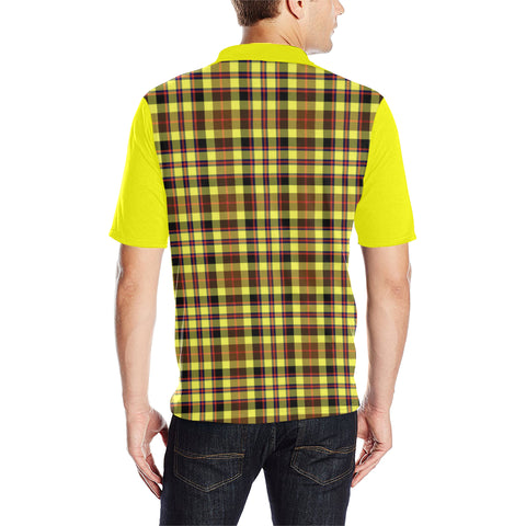 Jardine Clans Tartan Polo Shirt - Sleeve Color