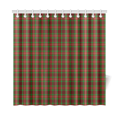Tartan Shower Curtain - Ainslie | Over 500 Tartans | Special Custom Design | Love Scotland