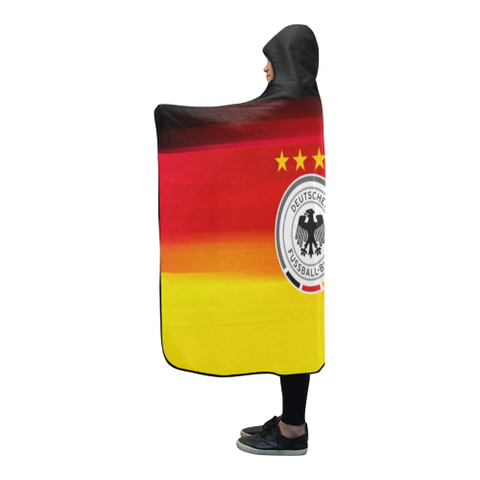 Germany World Cup Special Hooded Blanket Nn9 | Love The World