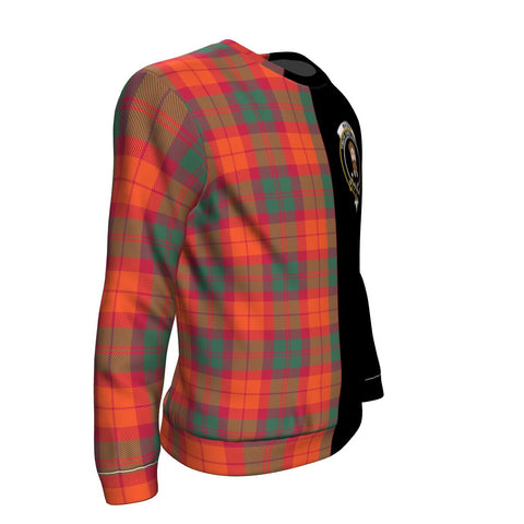 MacNab Ancient Tartan Sweatshirt - Half Style TH8