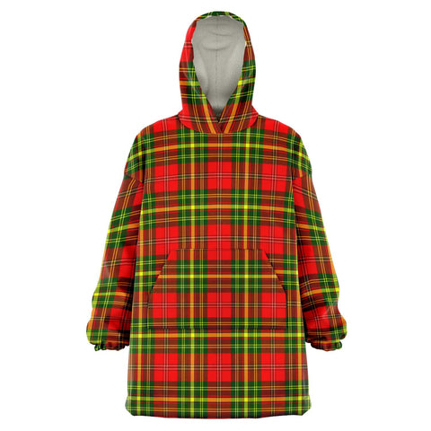 Image of Leask Snug Hoodie - Unisex Tartan Plaid Front