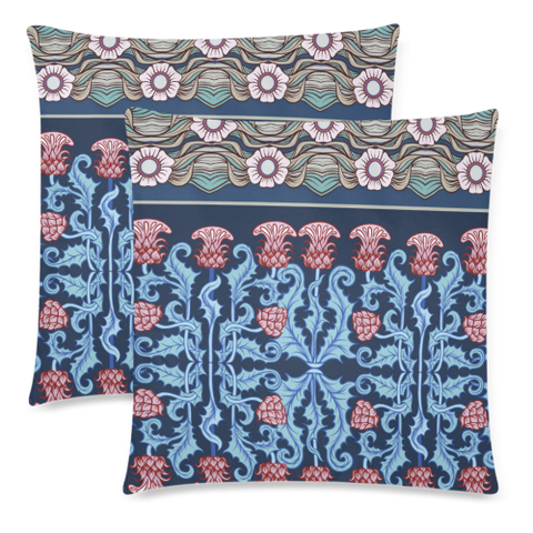Thistle 07 Zippered Pillow Cases A1
