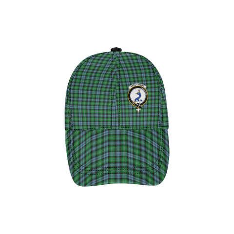 Arbuthnot Ancient Clan Badge Tartan Dad Cap - BN03