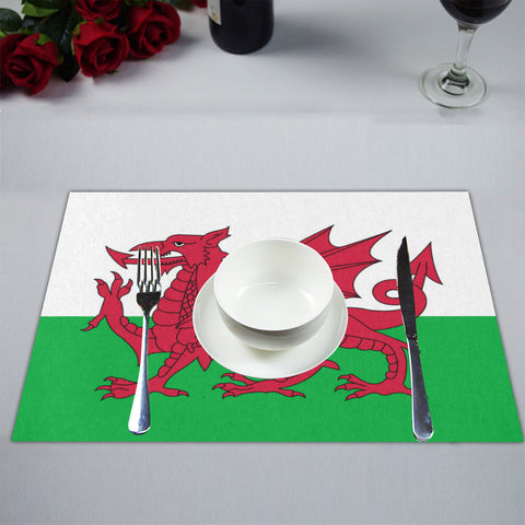 Image of WALES FLAG PLACEMAT O4