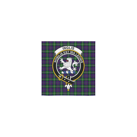 Inglis Modern Tartan Towel Clan Badge | 1sttheworld.com