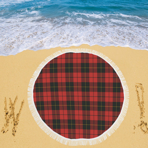 WALLACE WEATHERED TARTAN BEACH BLANKET th8