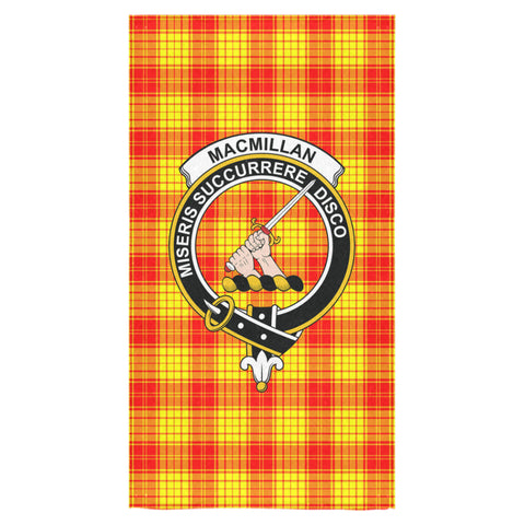 MacMillan Clan Tartan Towel Clan Badge NN5