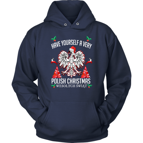 Image of Poland Christmas T-Shirt/Hoodie A7