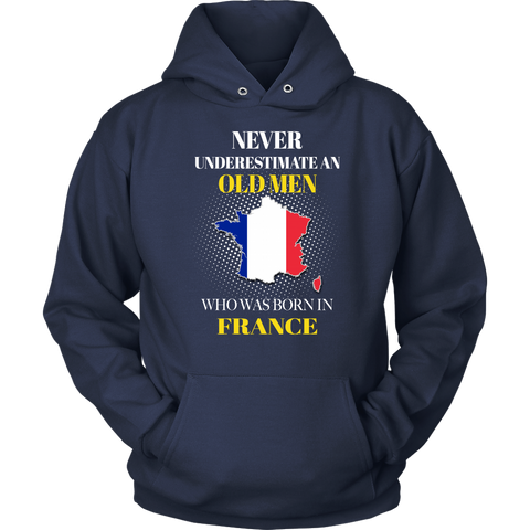 France T-shirt Never Underestimate Men A10