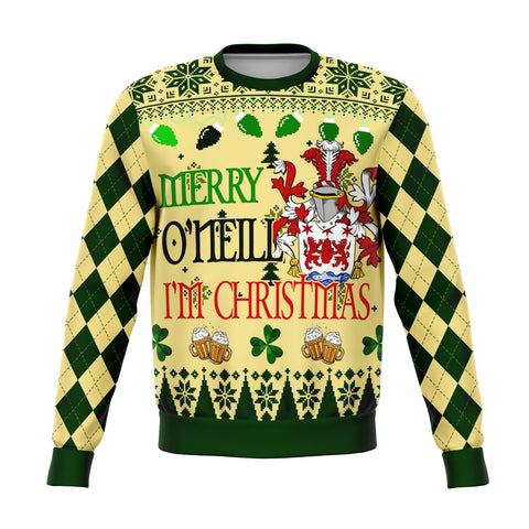 Image of Hello O'Neill I'm Christmas Sweatshirt | 1sttheworld.com