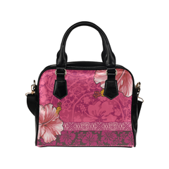Hawaiian Handbag Hawaii Polynesian Hibiscus Men/Women Accessories 03 H9