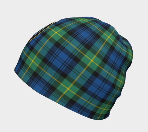 Gordon Ancient Tartan Clan Crest Beanie Hj4